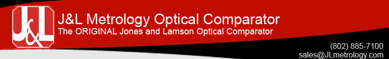 J&L metrology optical comparator the original jones and lamsom optical comparator